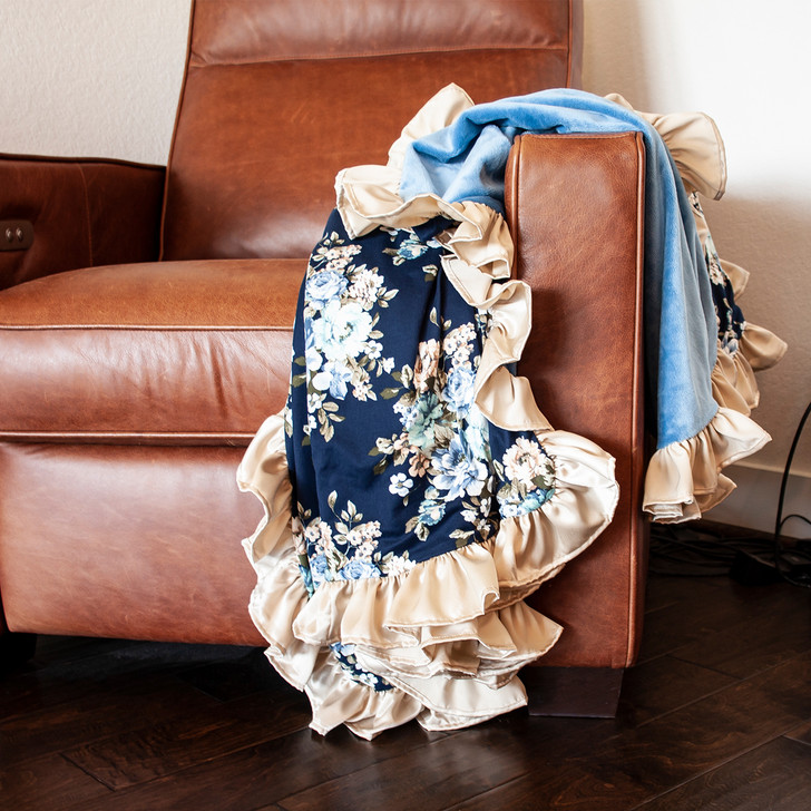Blanket: Love, Memaw Project - 2020 - Custom Embroidery