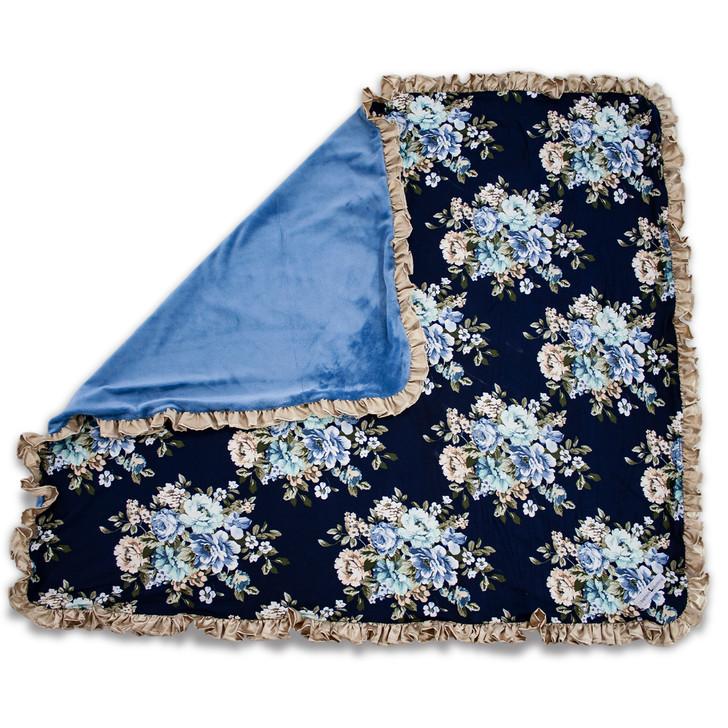 Petite Blanket: Love, Memaw Project - 2020 - Custom Embroidery