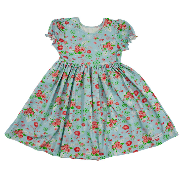 Alberta Dress in Abbey Garden