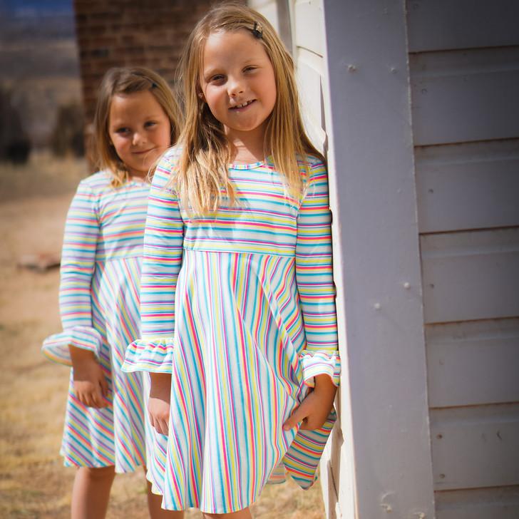 Daisy Dress in Neon Summer