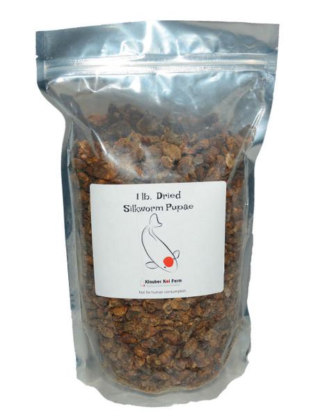 Dried Silk Worm Pupae 1 lb.