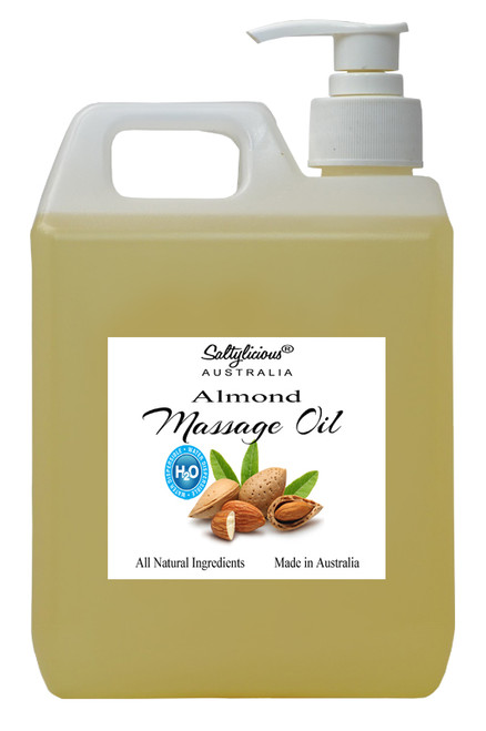 H2O Dispersible Massage Oil with Almond Oil 4 LT