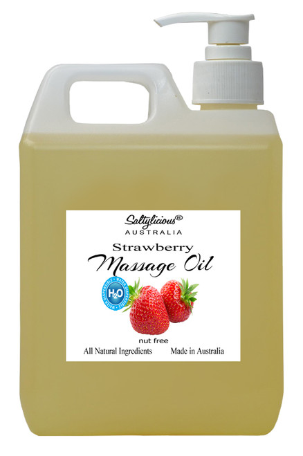 H2O Dispersible Massage Oil Strawberry