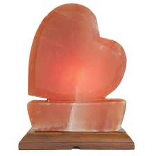 Large Heart Himalayan Salt Lamp