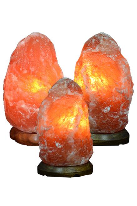 Himalayan Salt Lamps 3 Pack