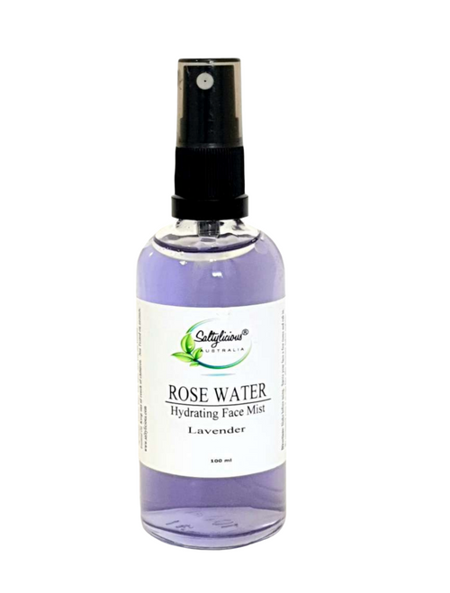 Rose Water Hydrating Face Mist 100 ml with Lavender