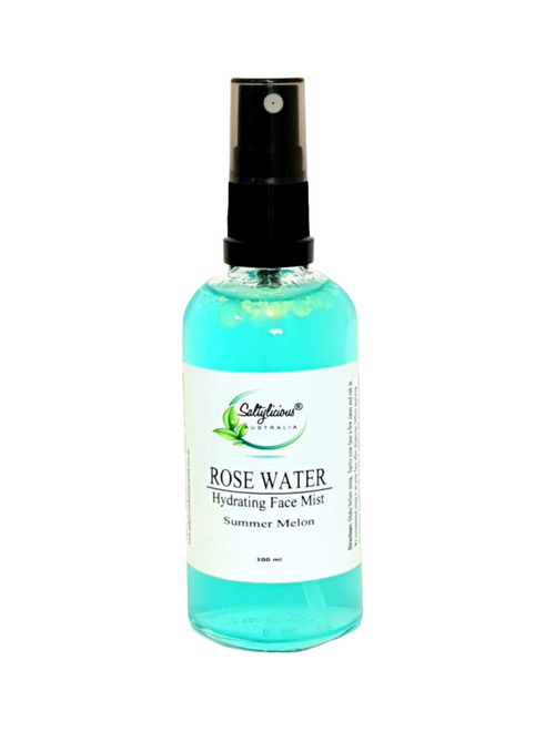 Rose Water Hydrating Face Mist Summer Melon