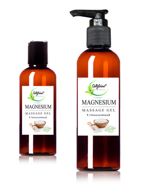 Unscented Magnesium Massage Gel
