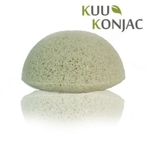 KUU Konjac Sponge with French Green Clay