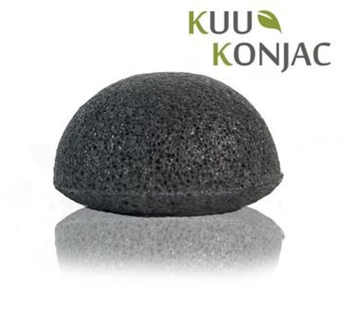 KUU Konjac Sponge w/ Bamboo Charcoal
