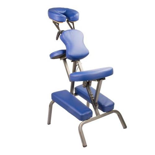 Aluminium Portable Massage Chair - BLACK