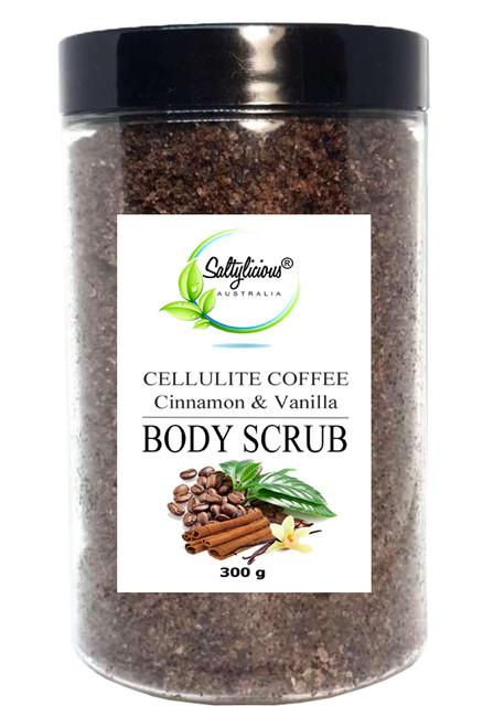 Cellulite Coffee Body Scrub With Cinnamon & Vanilla