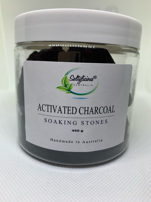 Herbal Remedies Soaking Stones  with Activated Charcoal