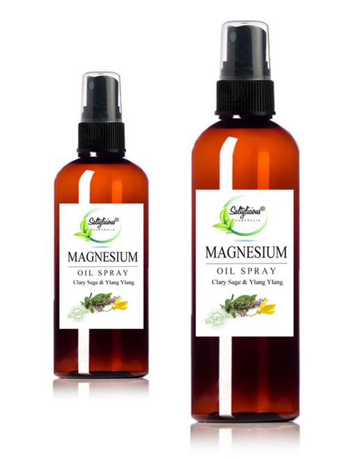 Clary Sage & Ylang Ylang  Magnesium Spray