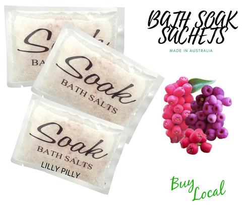 Lilly Pilly Bath Soak Sachet