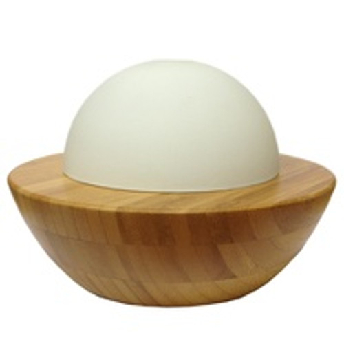 Aromatherapy Diffuser glass dome Bamboo Base