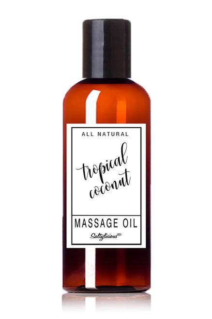 Tropical Coconut Massage Oil