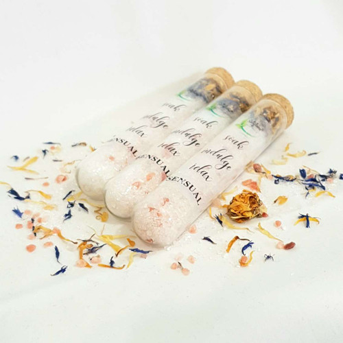 Epsom Bath Salts Test Tube Set Sensual
