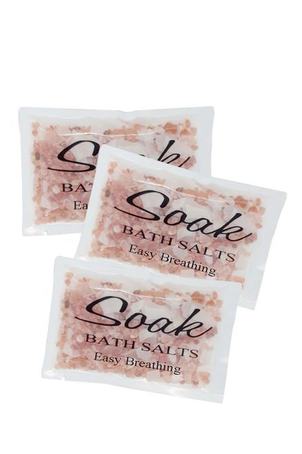 Bath Soak Sachets Easy Breathing