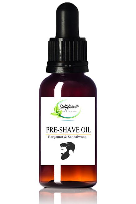 Pre Shave Oil with Bergamot & Sandalwood