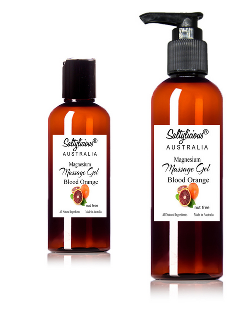 Blood Orange Magnesium Massage Gel