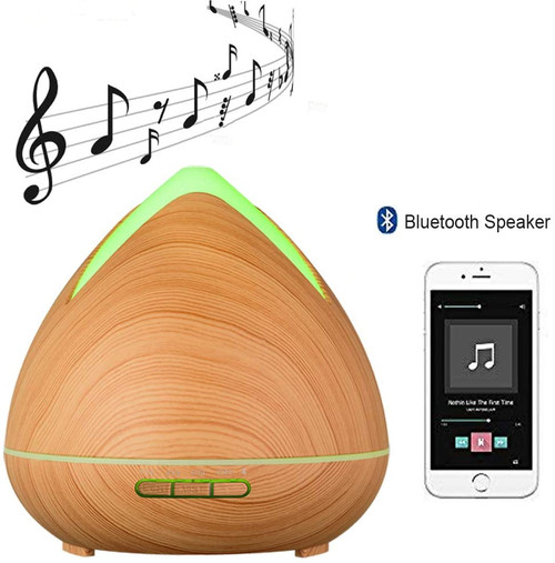 Aromatherapy Diffuser for Essential Oil with Bluetooth Speaker