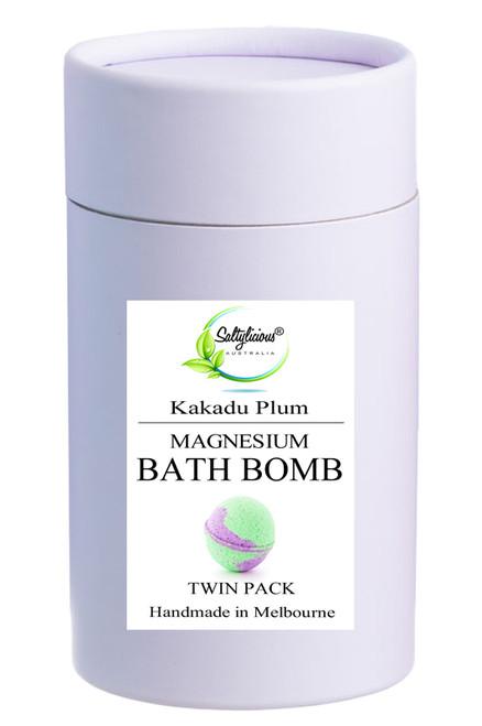 Kakadu Plum Magnesium Bath Bombs Twin Gift Pack