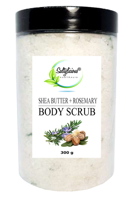 Shea Butter Body Scrub with Rosemary