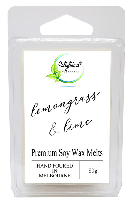 Lemongrass & Lime Premium Soy Wax Melts