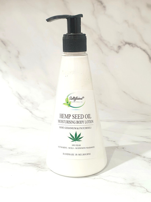 Body Lotion with Hemp Seed Oil