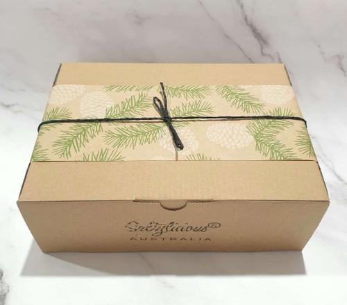 PineCone Brown Gift Box