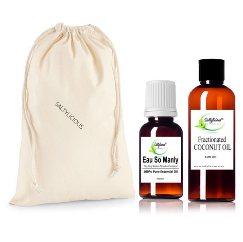 Eau So Manly Pure Essential Oil With Coconut Oil Duo Pack