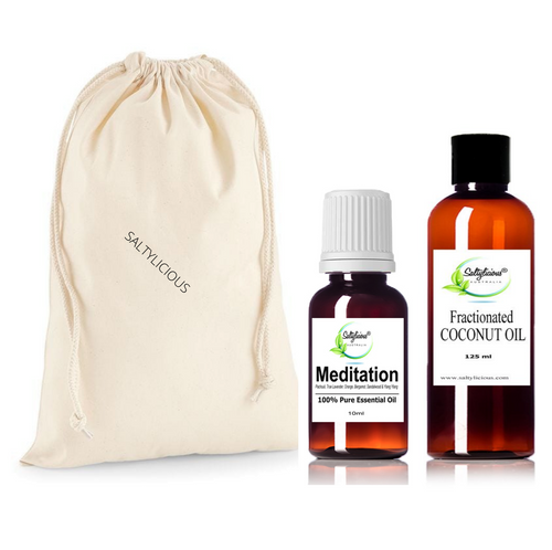 Meditation Pure Essential Oil With Coconut Oil Gift Pack