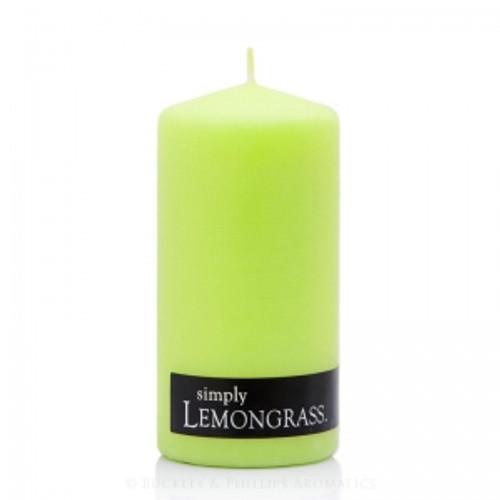 Lemongrass Pillar Candle