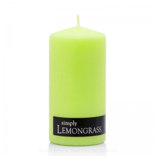 Lemongrass Pillar Candle