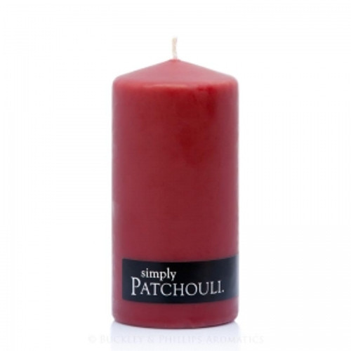 Patchouli Pillar Candle