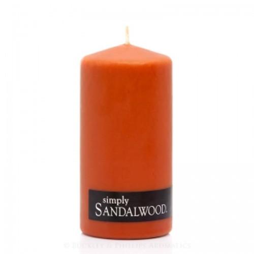 Sandalwood Pillar Candle