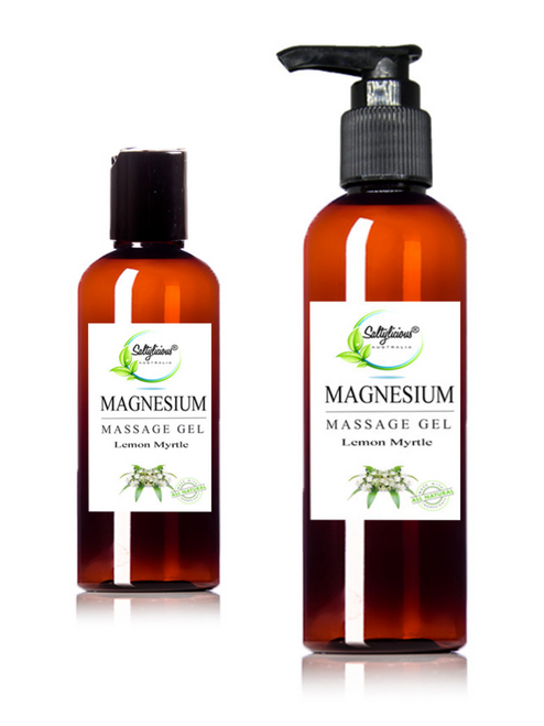 Lemon Myrtle Magnesium Massage Gel