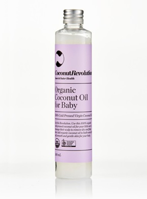 Organic Coconut Oil for Baby 100ml