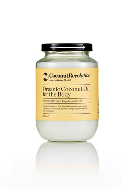 Organic Coconut Oil For The Body 420ml
