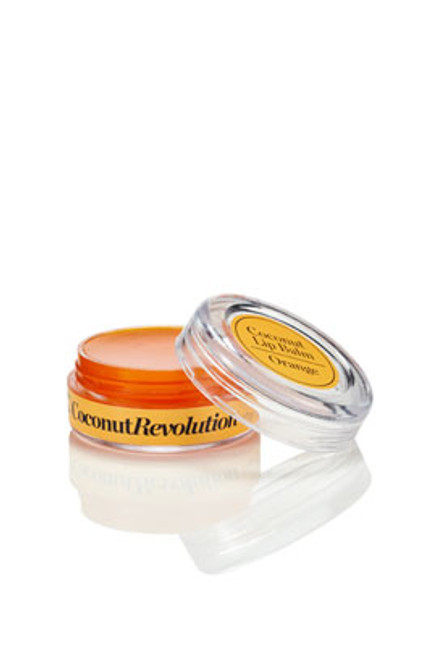 Coconut Lip Balm Orange pot