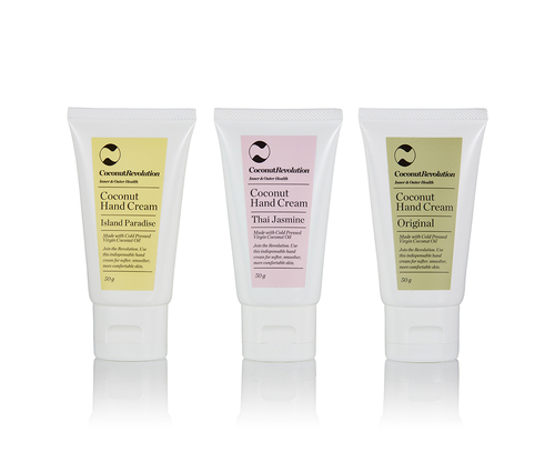 Coconut Hand Cream Trio