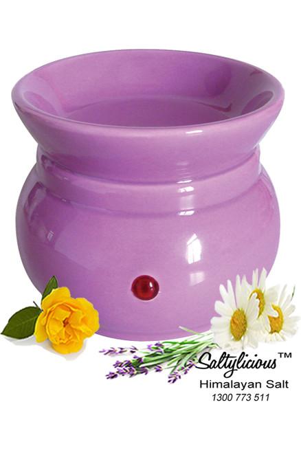 Aromatherapy Soy Wax Burner Purple