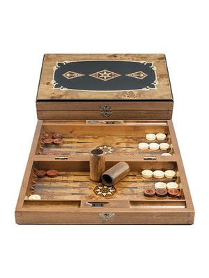 Classic Medium Size Backgammon 2205 38 x 2 x 6 cm
