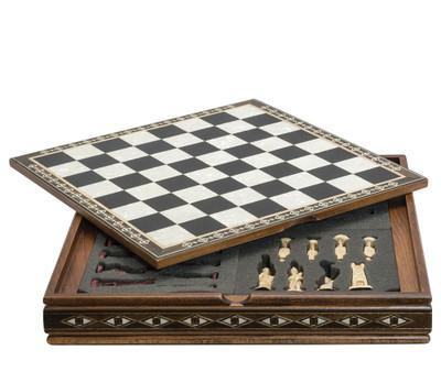 Mini Board on Case Black & Eco Mother of Pearl