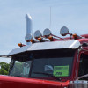 Stainless Train Horn Dome Cover On Truck