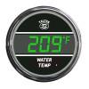 Truck Water Temperature Teltek Gauge - Green