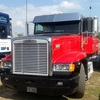 Freightliner FLD Stainless Steel Drop Visor