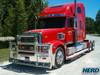 Freightliner Coronado Herd Super Road Train Bumper Grill Guard On Truck