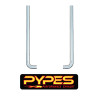 """Freightliner Classic FLD 6.5"""" Stainless Steel Exhaust Kit Mitered Stack - Pypes"""